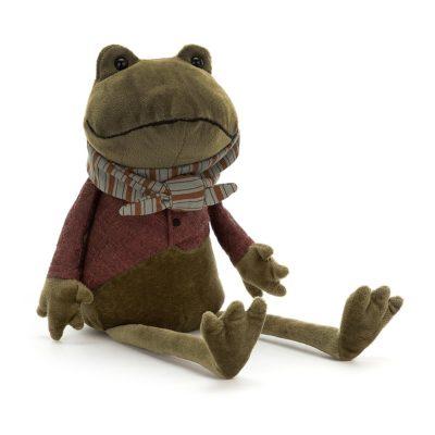 Rana - Riverside Rambler - muneco de trapo - peluche - Jellycat