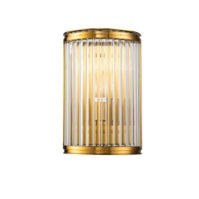 Aplique Bresa - Crisol iluminacion - cristal y metal - estilo clasico - Liderlamp