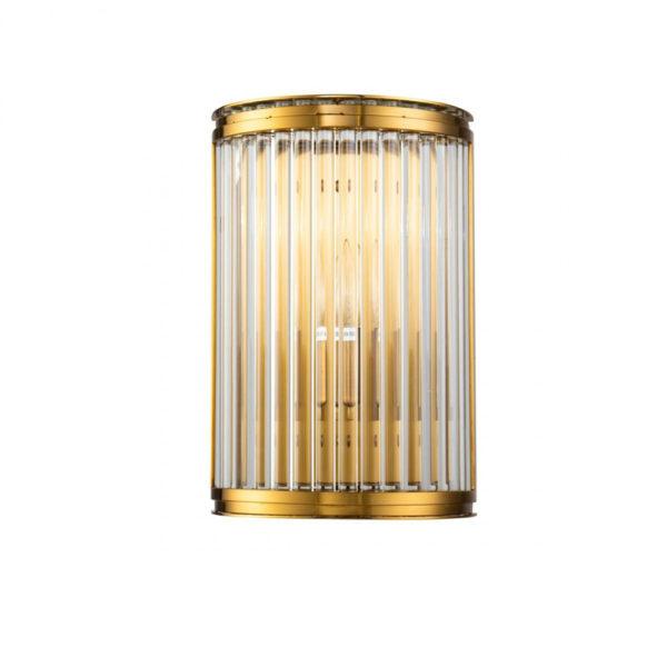 Aplique Bresa – Crisol iluminacion – cristal y metal – estilo clasico – Liderlamp