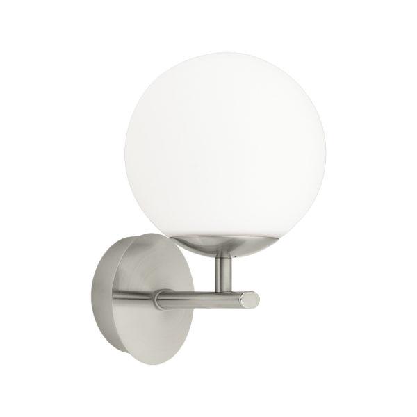 Aplique Palermo - estilo vintage - blanco y niquel - EGLO - Liderlamp