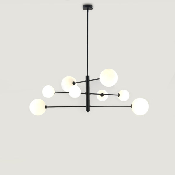 Colgante Atom – Laton o negro – Aromas del campo – Lampara de techo – Liderlamp (1)