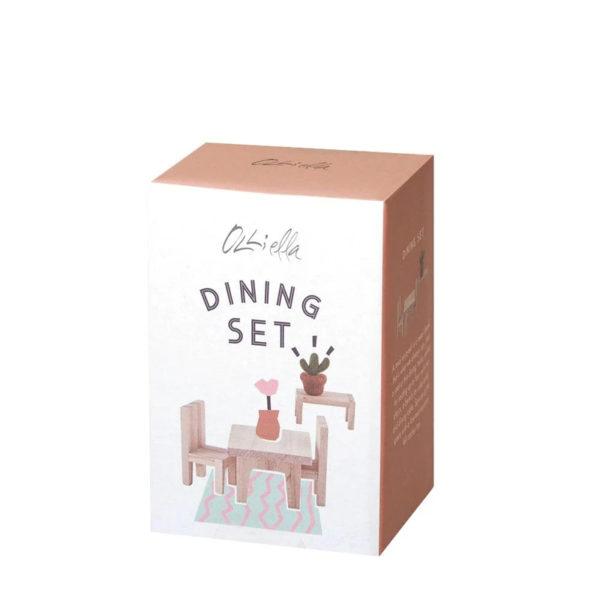 Set comedor- casita de madera – Olli Ella – juguetes tradicionales – Liderlamp (1)