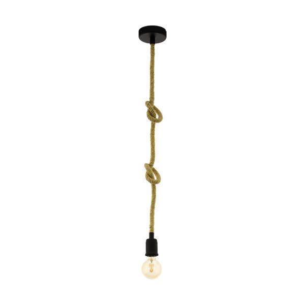 Colgante Bogus - cuerda - natural chic - marinero - EGLO - Liderlamp