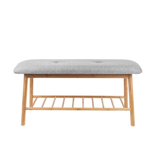 Banco Henan – bambu – Present time – mueble auxiliar – descalzadora – Liderlamp (1)