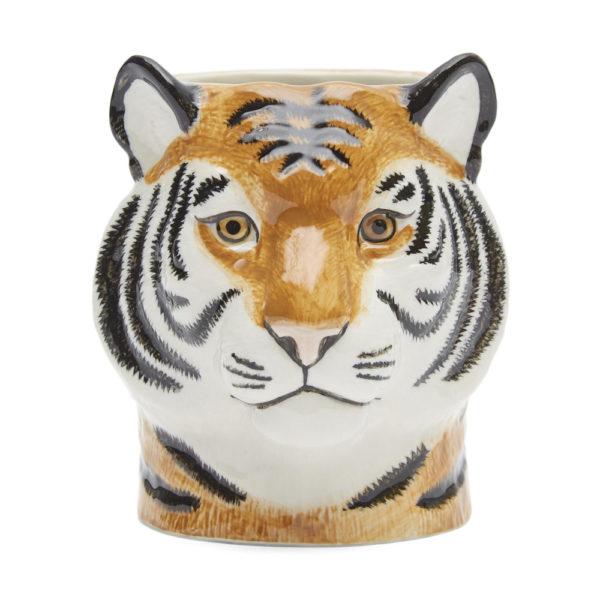 Bote de lapices Tigre ceramica – Quail ceramics – artesanal – escritorio – Liderlamp (1)