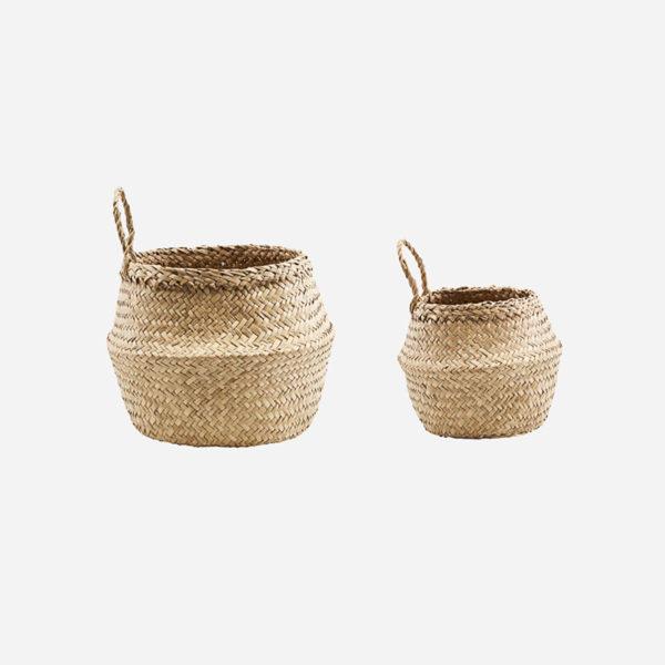 Cesta Tanger – House Doctor – Seagrass – Colgar gancho – Recibidor – Liderlamp (1)