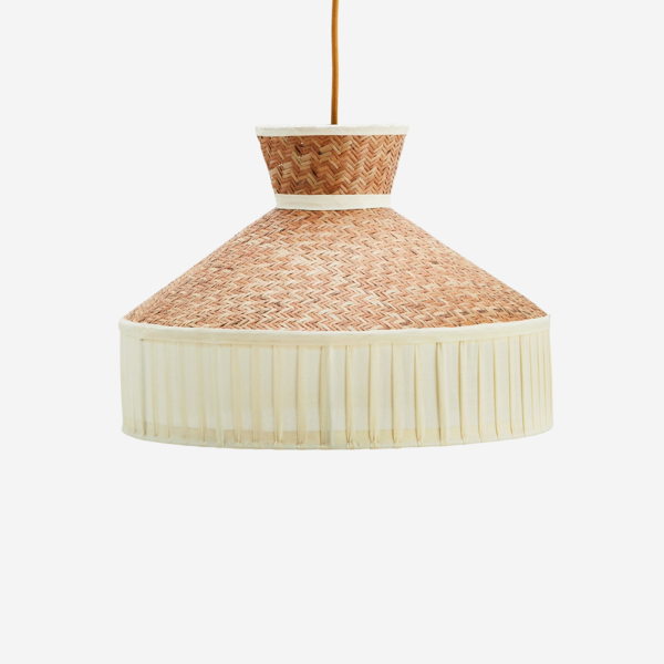Colgante Nat – Cana algodon – decoracion natural – neutros – Madam Stolz – Liderlamp – Liderlamp