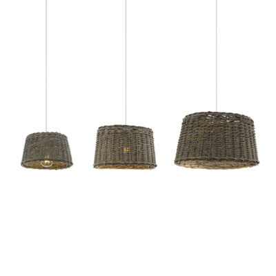 Colgante Tao - Pantalla de cesta - madera - Natural chic - Boho - EGLO - Liderlamp (1)