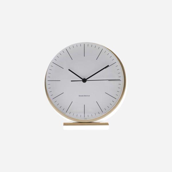 Despertador Le dorado - House Doctor - oro - mesita de noche - reloj - Liderlamp (1)