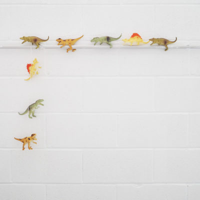 Guirnalda de luz - Dinosaurios - Animales - Disaster Design - deco infantil