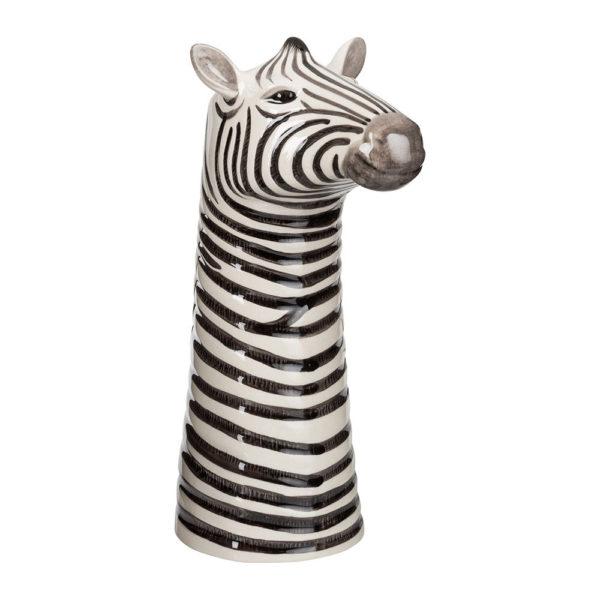 Jarron Cebra ceramica – Quail ceramics – Florero – artesanal – flores – Liderlamp (1)
