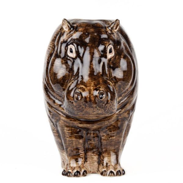 Jarron Hipo ceramica – Quail ceramics – Florero – artesanal – flores – Liderlamp (1)