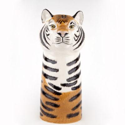 Jarron Tigre ceramica - Quail ceramics - Florero - artesanal - flores - Liderlamp (1)