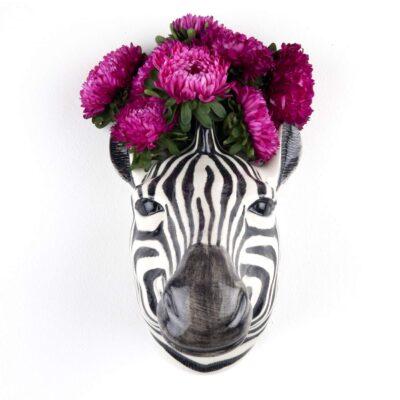 Jarron colgante Cebra - Quail ceramics - Florero - artesanal - flores - Liderlamp (3)
