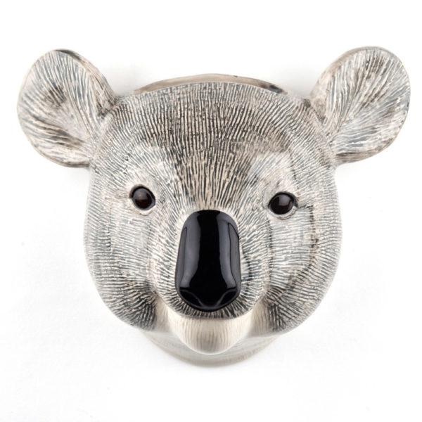 Jarron colgante Koala – small – Quail ceramics – Florero – artesanal – flores – Liderlamp (1)