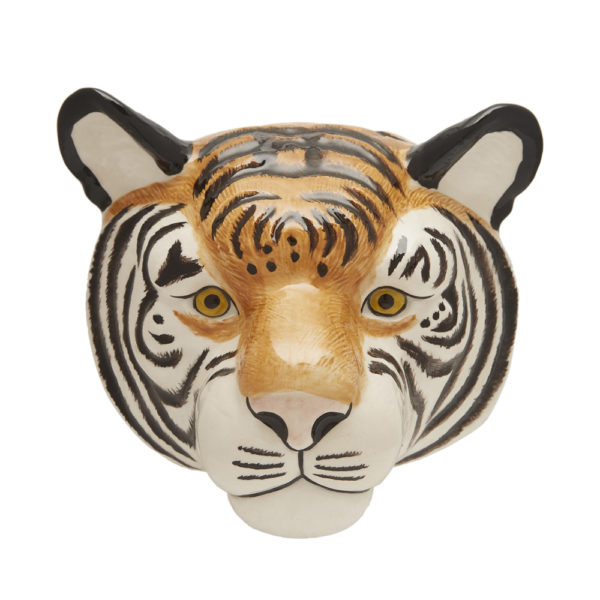 Jarron colgante Tigre – Quail ceramics – Florero – artesanal – flores – Liderlamp (1)