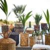 Macetero alto de bambu - plantas de interior - Madam Slotz - Liderlamp (3)