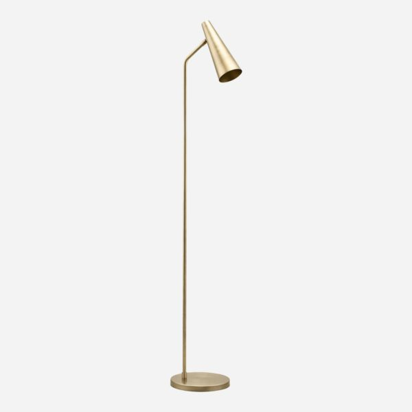Pie de salon Precise – laton – House Doctor – elegante – minimalista – Liderlamp (1)