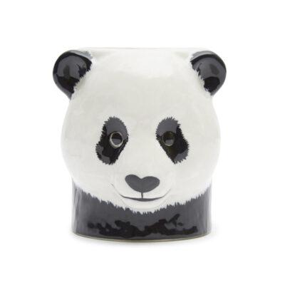 Portalapices Panda ceramica - Quail ceramics - artesanal - escritorio - Liderlamp (1)