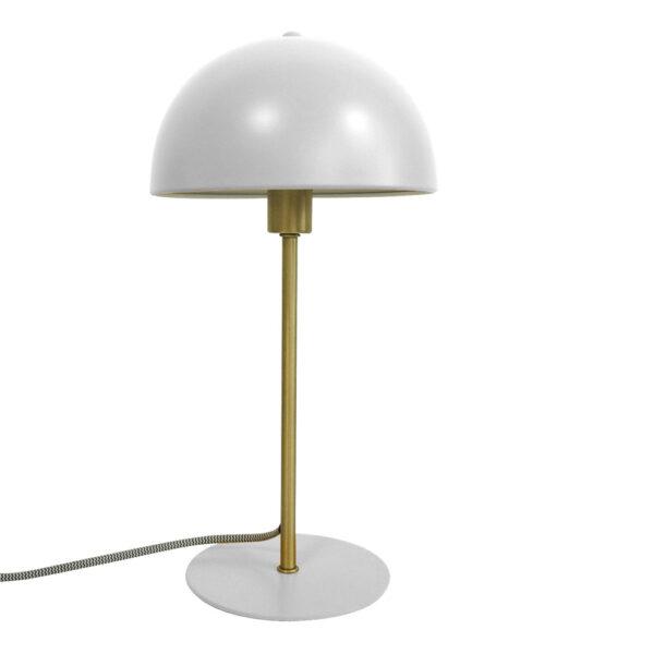 Sobremesa Bonnet - blanca - Metal - lampara auxiliar - Pressent time - Liderlamp (1)