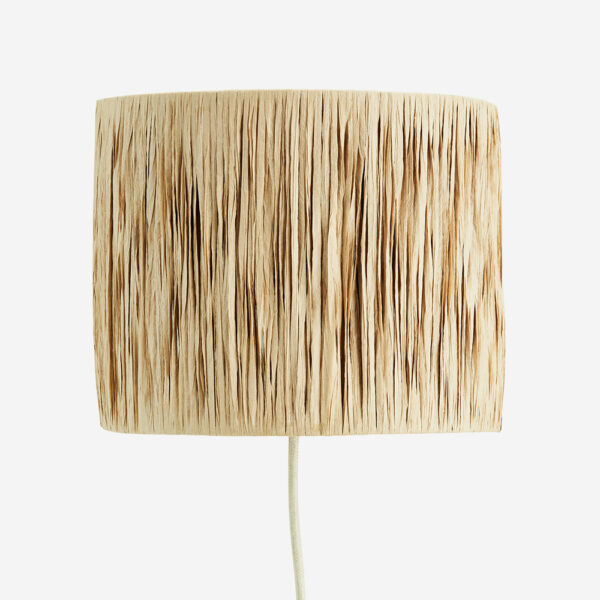 Aplique Baco – rafia – Madam Stolz – fibras naturales – tendencia – Liderlamp