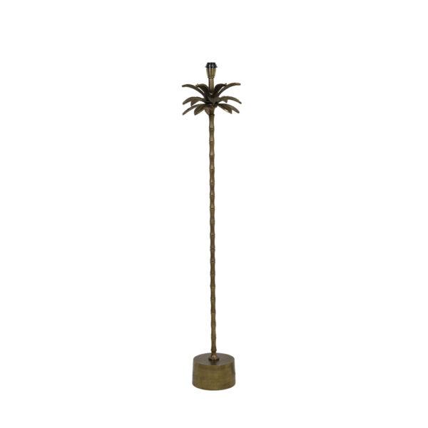 Base pie de salon Areca – palmera – decoracion botanica – bronce – Liderlamp (1)