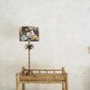 Base sobremesa Areca – palmera – decoracion botanica – bronce – Liderlamp (1)