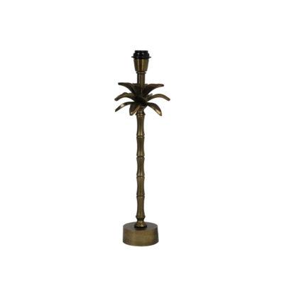 Base sobremesa Areca - palmera - decoracion botanica - bronce - Liderlamp (1)