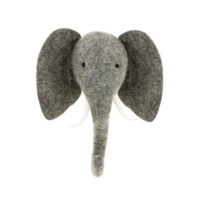 Cabeza-de-Elefante-de-fieltro---decoracion-pared-ninos---Fiona-Walker---Liderlamp