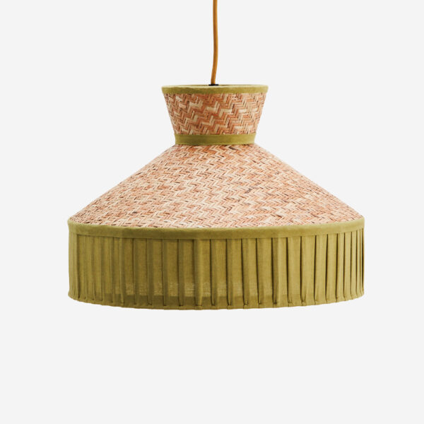 Colgante Nat - Cana algodon - decoracion natural - neutros - Madam Stolz - Liderlamp