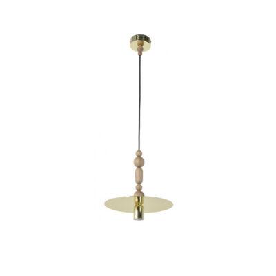 Colgante Providence - Market set - metal y madera - laton - Liderlampo (1)