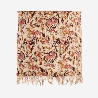 Pantalla estampado flores rosas - Madam Stolz - Bohemio - Liderlamp
