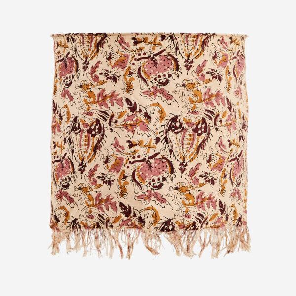 Pantalla estampado flores rosas – Madam Stolz – Bohemio – Liderlamp