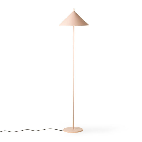 Pie de salon Tan – lampara de suelo – triangulo – metal – HKLiving – Liderlamp (1)