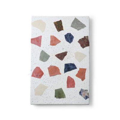 Tabla de corte de marmol - utensilios de cocina - terrazo - HK Living - Liderlamp (4)
