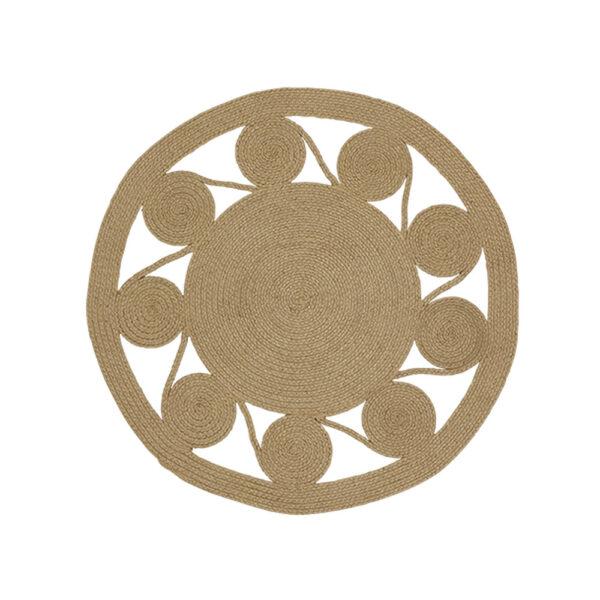 Alfombra Mandala – plastico PET reciclado – lavable – Liv Interiors – Liderlamp (1)