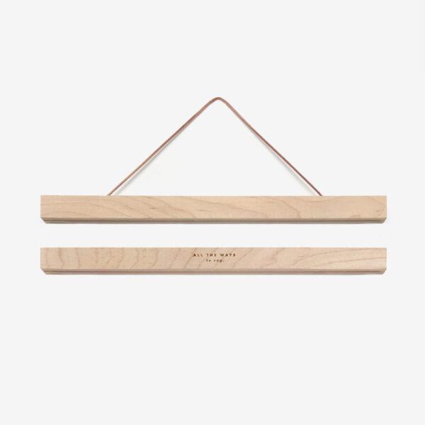 Colgador de laminas de madera – imanes – poster – marco cuadro – Liderlamp (2)