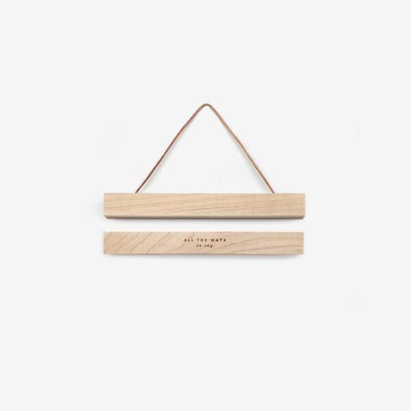 Colgador de laminas de madera - imanes - poster - marco cuadro - Liderlamp (1)