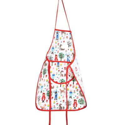 Delantal Infantil - Caperucita - aprender a cocinar - recetas ninos - Liderlamp (1)