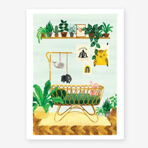 Lamina Boy Bedroom - poster - ilustracion - All the ways to say - cuadro - Liderlamp