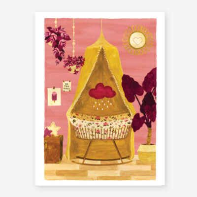 Lamina Girl Bedroom - poster - ilustracion - All the ways to say - cuadro - Liderlamp