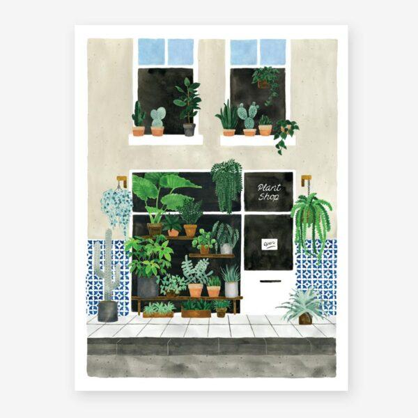 Lamina Plant Nursery - poster - ilustracion - All the ways to say - cuadro - Liderlamp