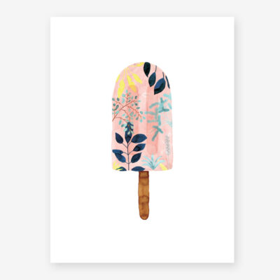 Lamina Popsicle pink - poster - ilustracion - All the ways to say - cuadro - Liderlamp