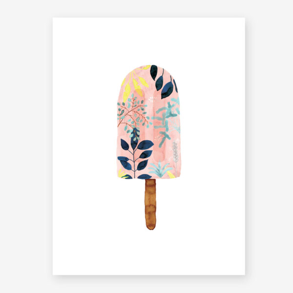 Lamina Popsicle pink – poster – ilustracion – All the ways to say – cuadro – Liderlamp