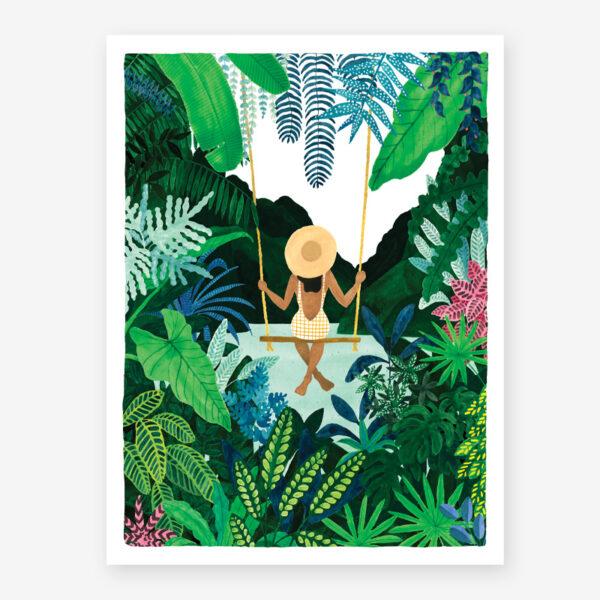 Lamina Swing - poster - ilustracion - All the ways to say - cuadro - Liderlamp