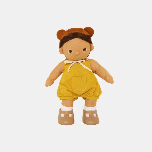 Ranita para muneco de trapo – Olli Ella – Dinkum dolls – Liderlamp (1)