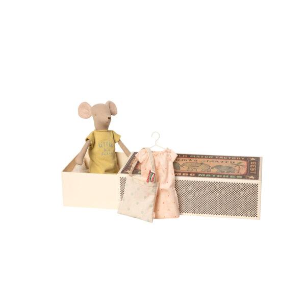 Raton – Medium – set pijama – Caja de cerillas – Maileg – decoracion infantil – Liderlamp