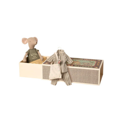 Raton - Medium - set pijama - Caja de cerillas - Maileg - decoracion infantil - Liderlamp