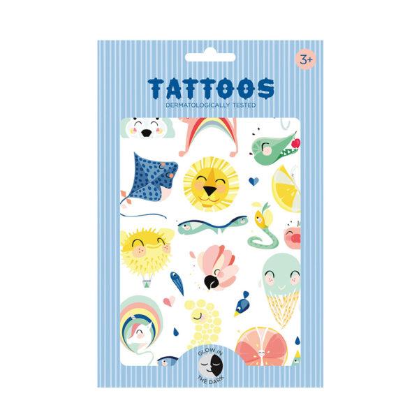 Tatoos temporales – Fluorescentes Lion – Calcomanias – Tatuajes – Liderlamp (1)