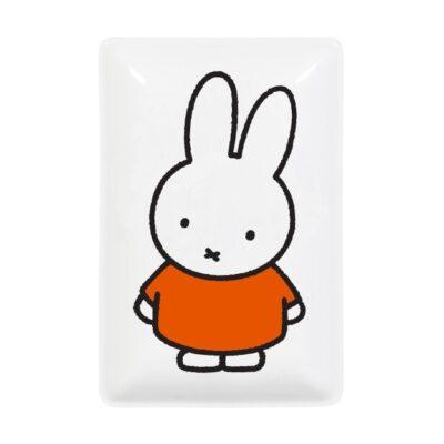 Bandeja vaciabolsillos - Miffy Head - Magpie - ceramica vegana - Bruna - Liderlamp (1)